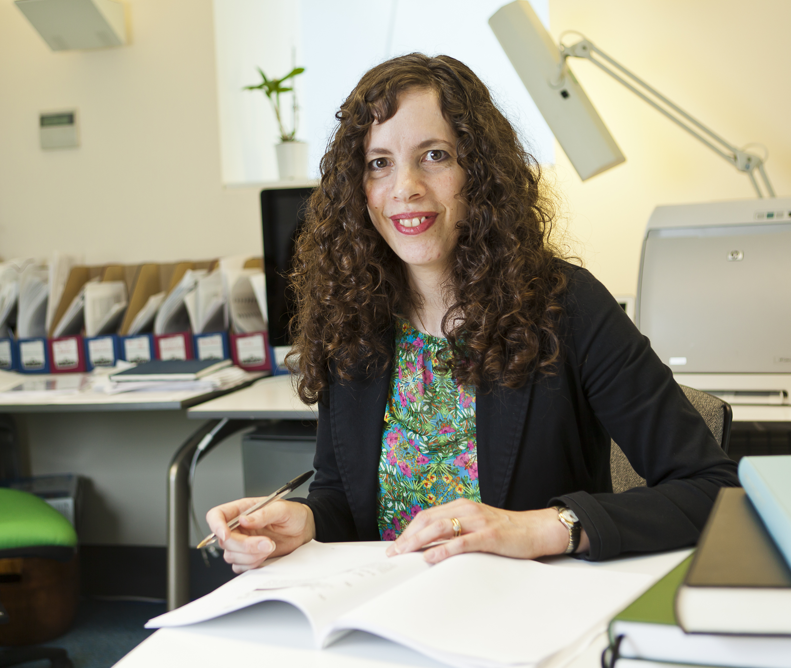 Our Head of Department Prof. Laura Itzhaki