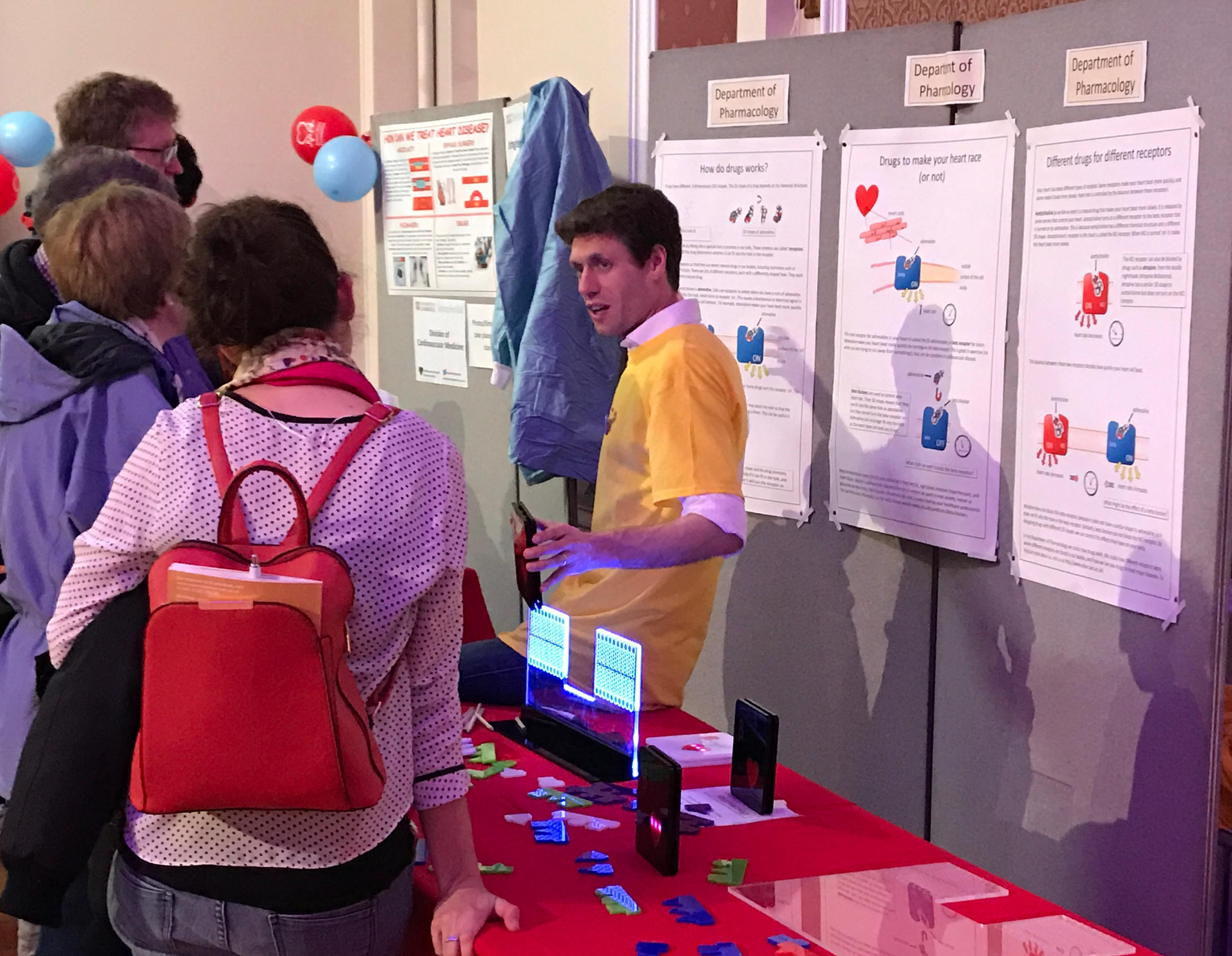 Pharmacology at the Cambridge Science Festival