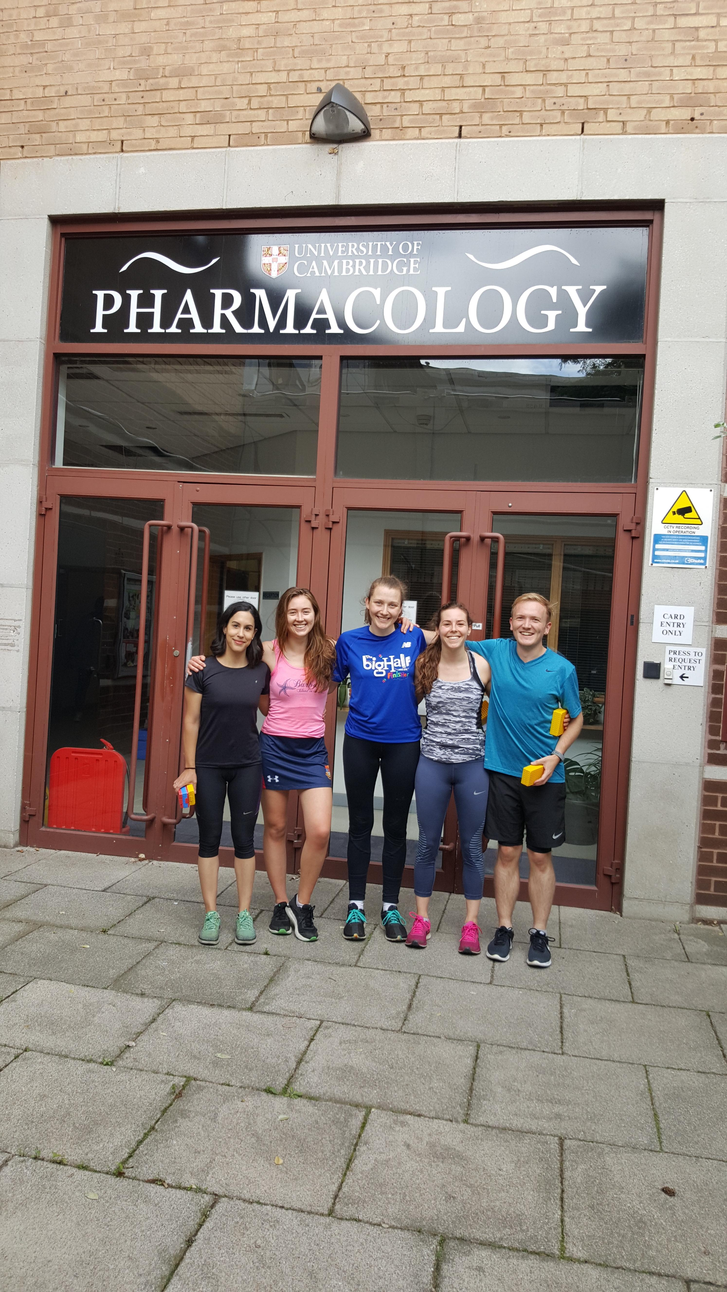 Pharmacology Lunch-time Run Club